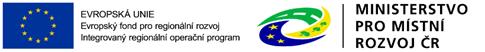 Logo EU a Ministerstva pro místní rozvor ČR